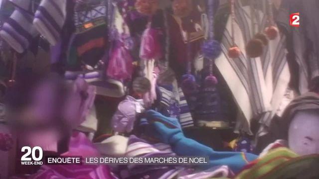 Marchés de Noël : les dérives de marchés qui jouent la carte de l'artisanal