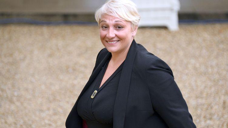 La secrétaire d'Etat chargée des Droits des femmes, Pascale Boistard, le 27 août 2014, à l'Elysée. (BERTRAND GUAY / AFP)
