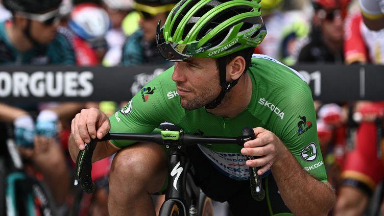 Mark Cavendish avant la 11e étape du Tour de France. (ANNE-CHRISTINE POUJOULAT / AFP)