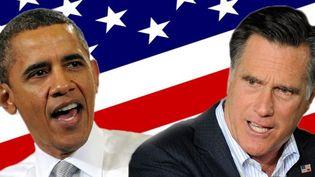 Obama ou Romney, qui chante le mieux ?  (JEWEL SAMAD / AFP & Ethan Miller / GETTY IMAGES NORTH AMERICA / AFP )