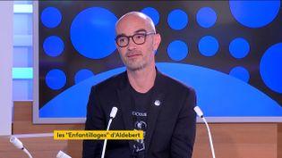 Guillaume Aldebert. (France 2)