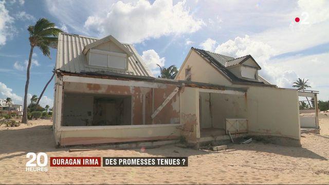 Ouragan Irma : des promesses tenues ?