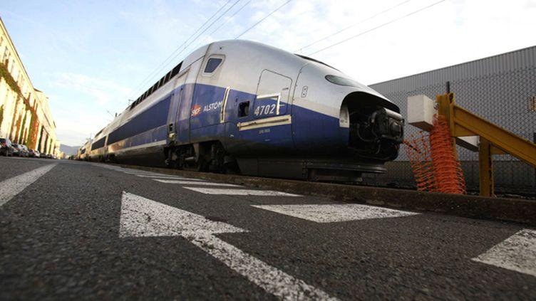 (La branche transport d'Alstom pourrait supprimer 300 emplois à Belfort © MAXPPP)