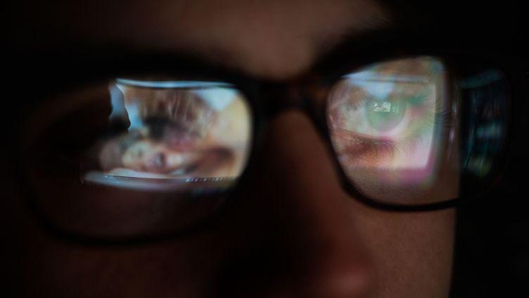 """Le secrétaire d'Etat chargé du Numérique a évoqué la possibilité de mettre en place un """"tiers de confiance"""" pour vérifier l'âge des internautes qui consultent des sites pornographiques. (VOISIN / PHANIE / AFP)"""