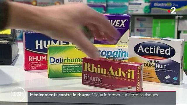 Médicaments contre le rhume : mieux informer sur certains risques