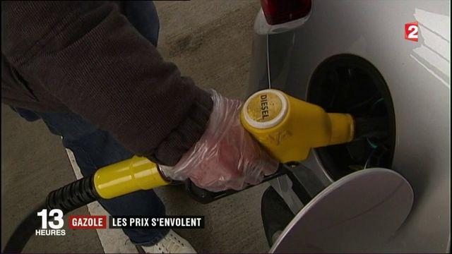 Consommation : le prix du gazole s'envole durablement