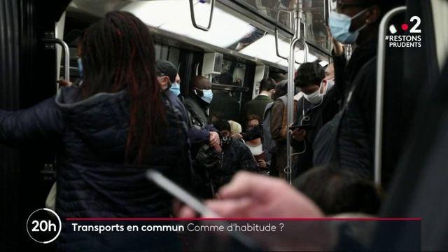 Transports en commun : le confinement a-t-il un effet sur la fréquentation ?