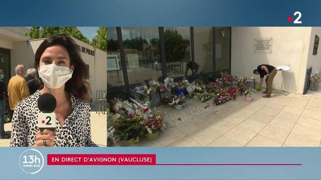 Mort d'un policier à Avignon : un hommage devant le commissariat où travaillait Éric Masson