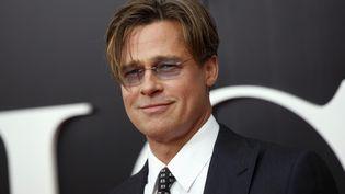 """Brad Pitt pour la sortie de """"The big short"""" à New York le 23 novembre 2015. (? SHANNON STAPLETON / REUTERS / X90052)"""