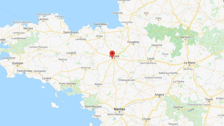 Un homme d'une vingtaine d'année a été tué mercredi à Rennes, dans le quartier de la Cleunay. (CAPTURE D'ÉCRAN GOOGLE MAPS)