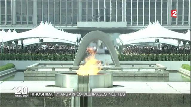 Hiroshima : 71 après, des images russes inédites dévoilées