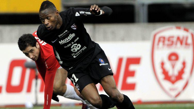 Diafra Sakho a inscrit 20 buts avec le FC Metz en Ligue 2 l'an passé (/NCY / MAXPPP)