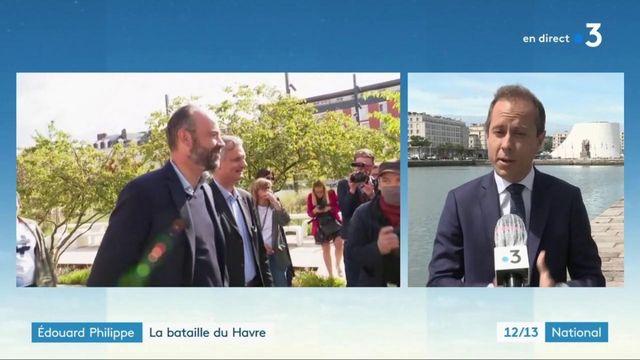 Municipales : Édouard Philippe en campagne au Havre