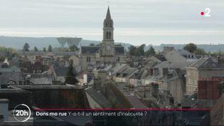 Selon un sondage récent, 58 % des Français se sentent de plus en plus en insécurité. Un sentiment que partage certains habitants d'Alençon (Orne). (France 2)