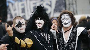 Des amateurs de hard rock au Hellfest 2013 à Clisson  (Jean-Sébastien Evrard / AFP)
