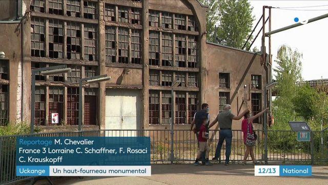 Le haut-fourneau d'Uckange, symbole du passé industriel