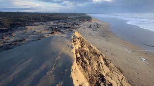 La plage de Saint-Trojansur l'Ile d'Oléron. (XAVIER LEOTY / AFP)