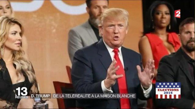 Présidentielle américaine : Donald Trump, de la télé-réalité à la Maison-Blanche
