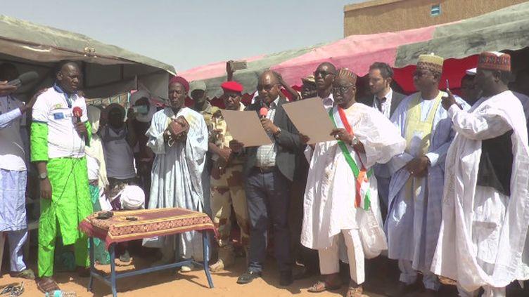 D'anciens membres du groupe Boko Haram viennent de terminer le premier programme de déradicalisation au Niger.  (france 24)