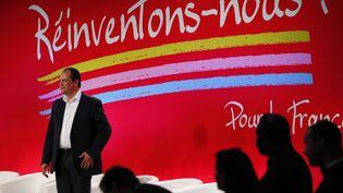 Le Premier secrétaire du Parti socialiste, Jean-Christophe Cambadélis, le 29 août 2014 à La Rochelle. ( STEPHANE MAHE / REUTERS)