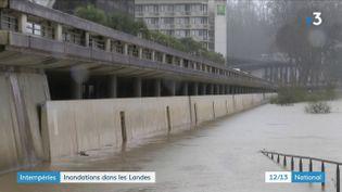 Landes : la tempête Bella provoque des inondations (France 3)