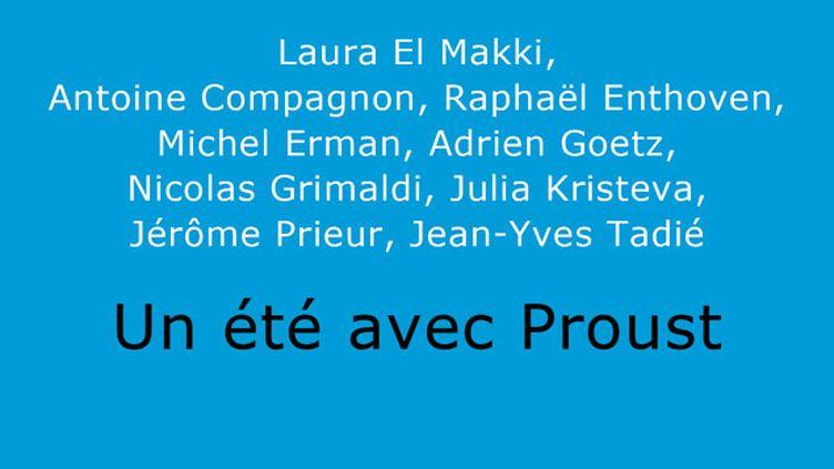 (Après Montaigne, passez l'été avec Proust © Ed Parallèle)
