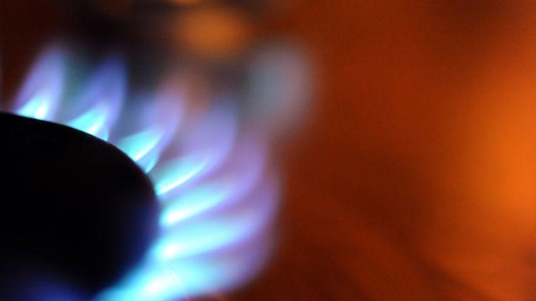 La baisse du tarif du gaz sera de 0,4% pour les foyers qui ne l'utilisent que pour la cuisson, le 1er mars. (FRED TANNEAU / AFP)