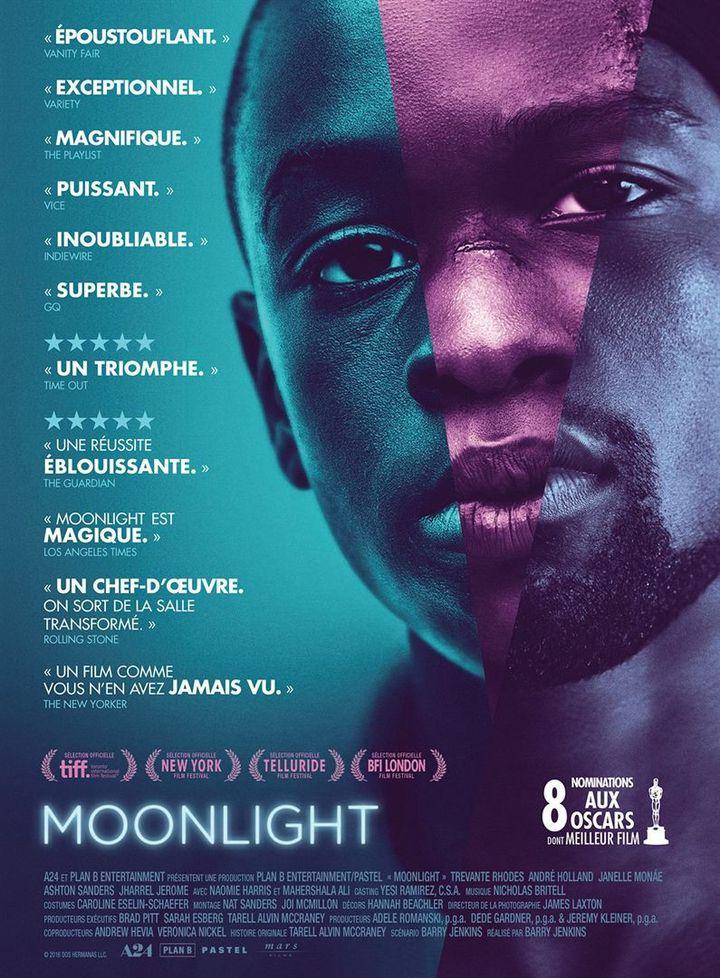 """""""Moonlight"""" : l'affiche française  (Mars Films)"""