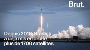 VIDEO. La pollution des satellites Starlink inquiète les astronomes (BRUT)