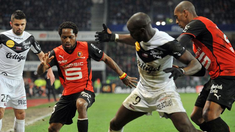 Rennes - Guingamp (FRANK PERRY / AFP)