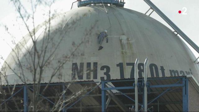 Pas-de-Calais : des salariés d'une usine Seveso doivent vider des centaines de tonnes d'ammoniac
