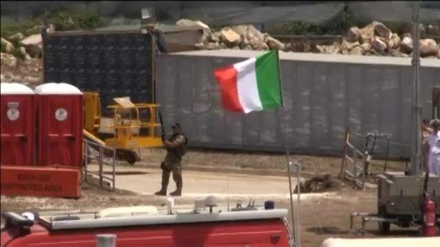 Sicile : opération de repêchage de la marine italienne des 300 corps