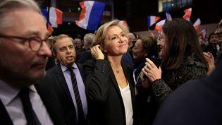 Valérie Pécresse lors d'un meeting à Issy-les-Moulineaux (Hauts-de-Seine), le 9 décembre 2015. (MAXPPP)