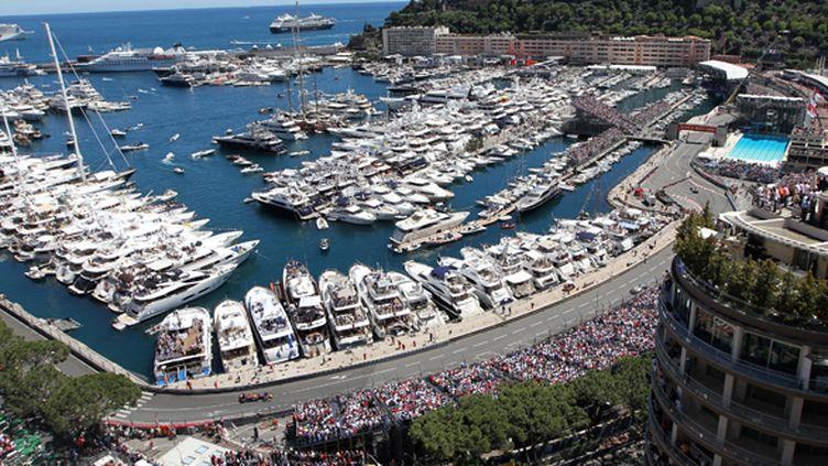 Le GP Monaco 2013 vue d'en haut (JEAN CHRISTOPHE MAGNENET / AFP)