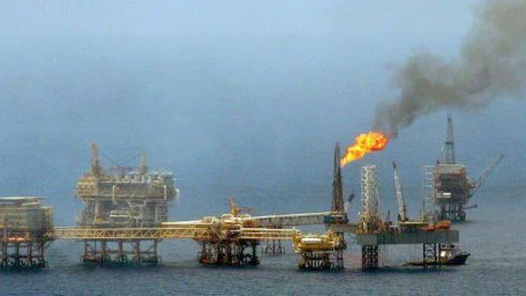 Un site pétrolier dans le golfe du mexique, le 4 septembre 2006. (AFP/Eunice Adorno)