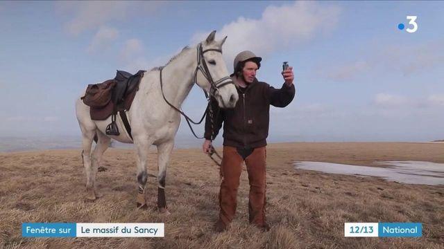 Auvergne : rencontre avec Alexandre Letort, aventurier et météorologue dans le massif du Sancy