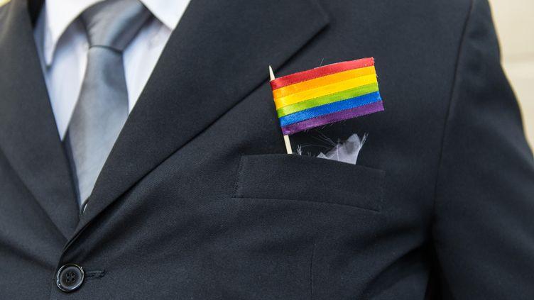 Le 8 décembre 2013, 130 couples homosexuels se sont mariés lors d'une grande cérémonie à Rio de Janeiro. (YASUYOSHI CHIBA / AFP)