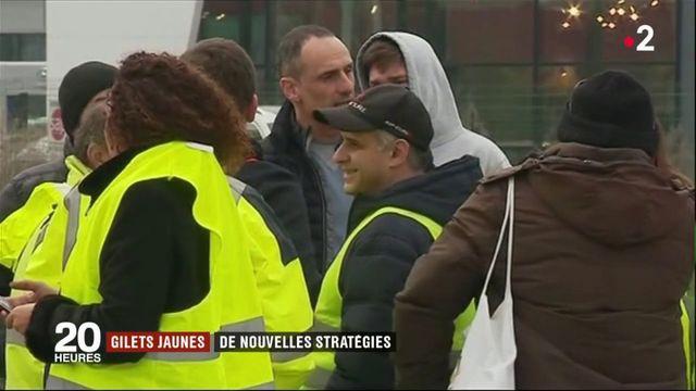 """""""Gilets jaunes"""" : Les nouvelles stratégies des manifestants"""