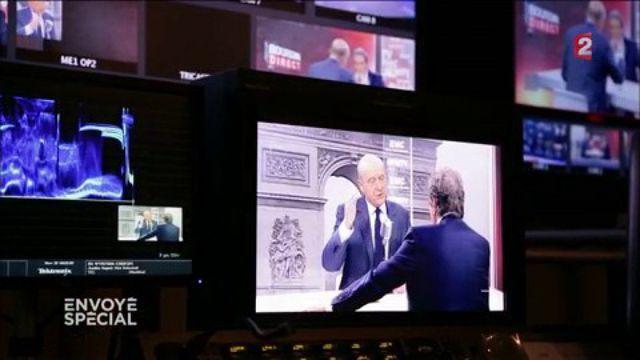 """Envoyé spécial. Alain Juppé dans les coulisses de France Télévisions le lendemain du premier tour : """"C'est tout à fait inattendu"""""""