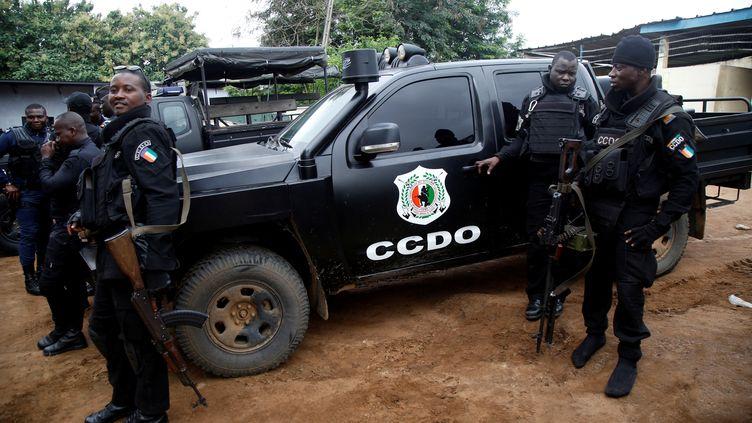 La police du Centre de coopération des décisions opérationnelles basé à Abidjan est engagée dans la lutte contre les trafics de cocaïne et de production de metamphétamines. (LUC GNAGO / X01459)