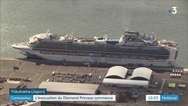 "Covid-19 : 500 passagers débarqués du ""Diamond Princess"""