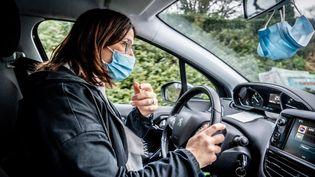 Une infirmière libérale en France, en décembre 2020. (GARO / PHANIE / AFP)
