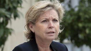 Sylvie Hubac à l'Élysée en mai 2013  (JACQUES DEMARTHON / AFP)