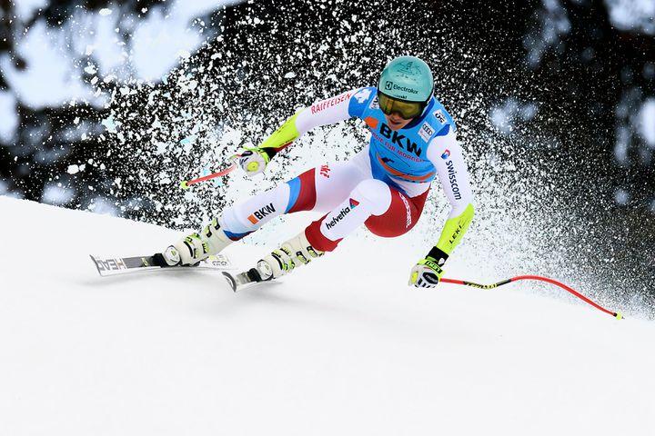 Championne du monde en titre à Saint-Moritz, la Suissesse Wendy Holdener termine au pied du podium à Crans-Montana.