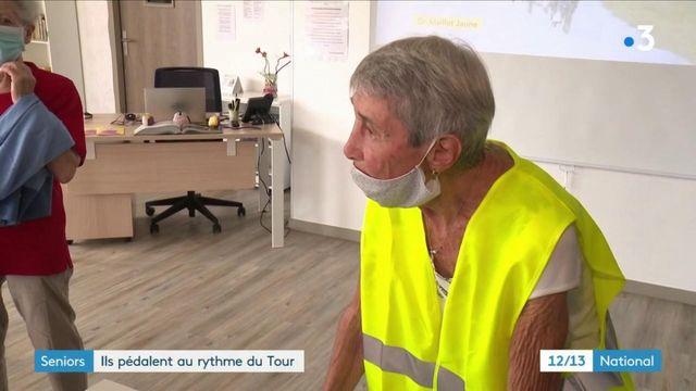 Tour de France : des séniors parcourent 500 kilomètres sur des vélos d'appartement