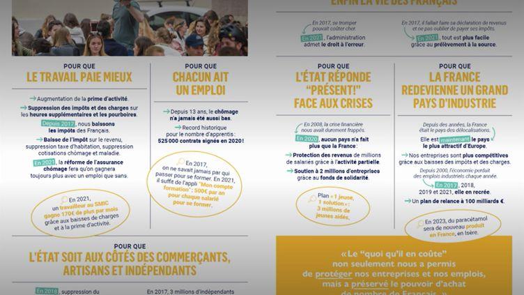 VRAI ou FAKE. Présidentielle 2022 : la République en marche survendrait ses mérites selon France Stratégie (FRANCEINFO)