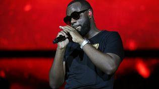 Le rappeur Gims auStade de Franceà Saint-Denis (Seine-Saint-Denis), le 28 septembre 2019. (ZAKARIA ABDELKAFI / AFP)