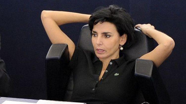 Rachida Dati au Parlement européen à Strasbourg (Bas-Rhin), le 4 juillet 2012. (FREDERICK FLORIN / AFP)