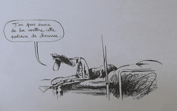 """Extrait de """"Carnet de santé foireuse"""" de Polza  (France 3 / Culturebox / capture d'écran)"""