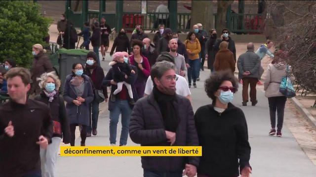 Déconfinement : un vent de liberté pour les Français